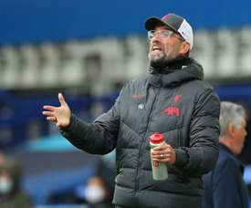 Klopp was happy despite dropping points. AFP