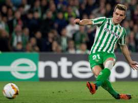 Tottenham have put in a very low offer for Lo Celso. AFP