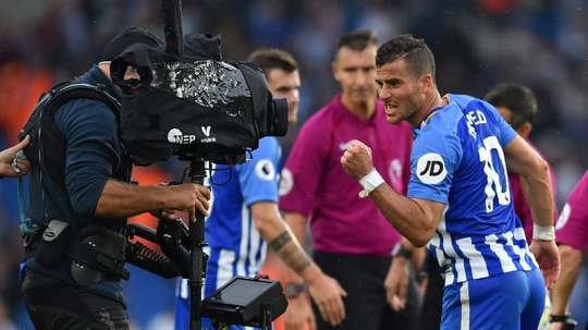 Tomer Hemed is close to a move to QPR. AFP