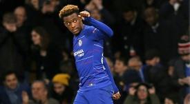 Hudson-Odoi aurait refusé toutes les offres de prolongation de Chelsea. AFP