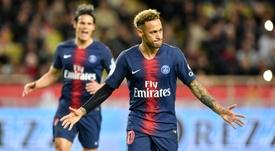 Neymar llegó al PSG la pasada temporada. AFP