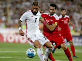Syria have earned a spot on the World Cup play-offs. AFP