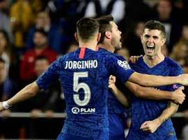 Chelsea made to wait for last 16 spot after thrilling draw in Valencia. AFP