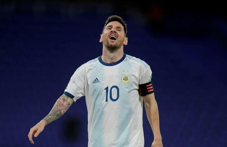 Messi praises Argentina growth after Peru win. AFP