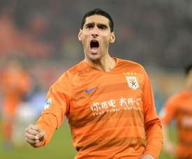 El Shandong Luneng de Fellaini luchará por la Copa. AFP