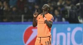 Mané fue el protagonista absoluto con un 'hat trick'. AFP