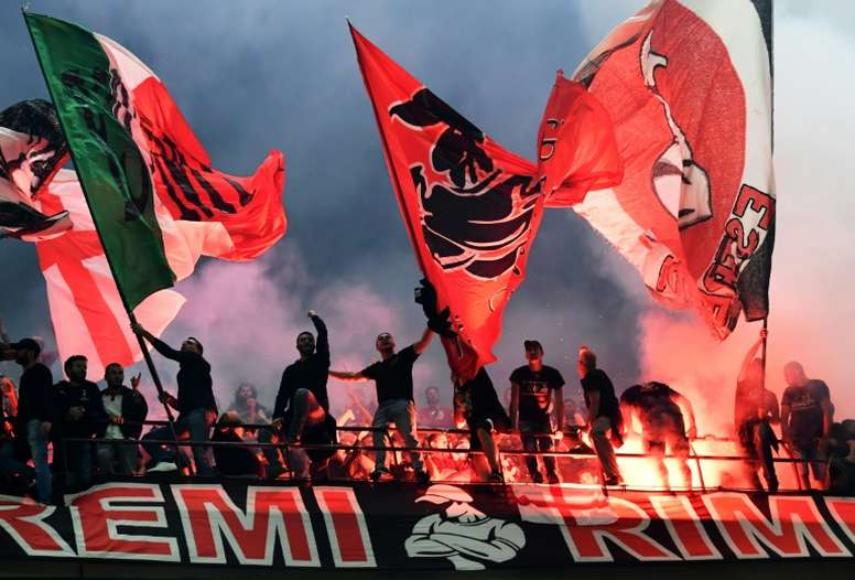 AC Milan suffer record 146 million euro losses - reports. AFP