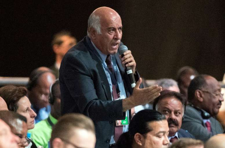 Rajoub is urging Messi not to play in Jerusalem. AFP