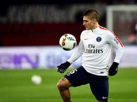 Verratti, de 25 anos, pode pintar no Manchester United. AFP