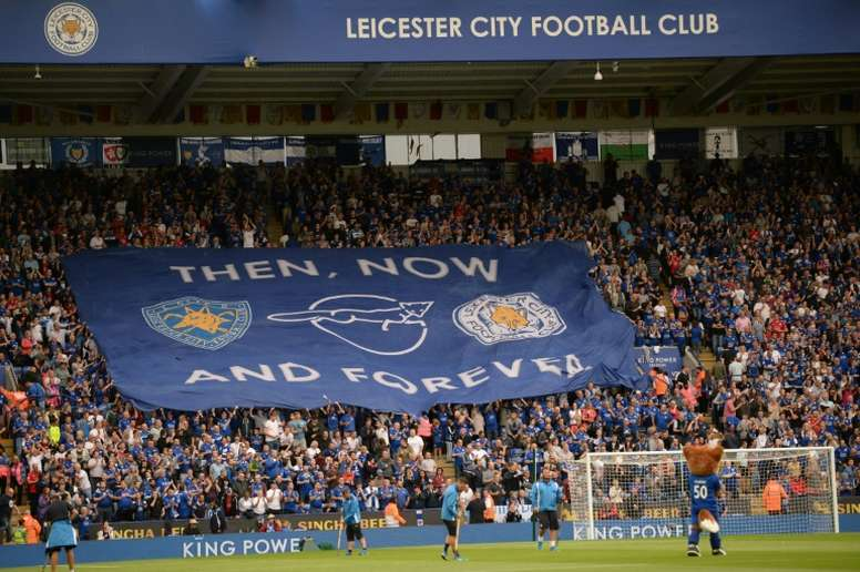 UEFAs plans would make it so clubs like Leicester City, whose fans are seen in August 2016, with little European track record, would not benefit so much simply from coming out of the Premier League