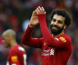 Salah n'a pas parlé d'une offre du Real Madrid à son ancien entraîneur. AFP