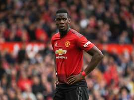 British medi have claimed that Pogba's absence is linked to his possible departure. AFP