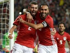 Egypt edged past Tanzania on Thursday. AFP