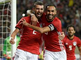 Egypt edged past Tanzania on Thursday. AFP
