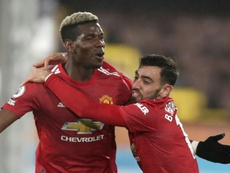 Pogba fires Man Utd back to Premier League summit. AFP
