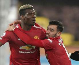 United on track for first title since Ferguson era. AFP