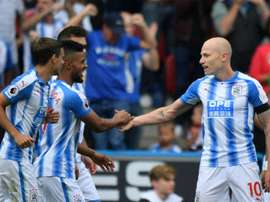 Mooy starred in the victory over Manchester United. AFP