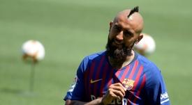 Arturo Vidal estaría interesado en volver a Turín, según la prensa italiana. AFP