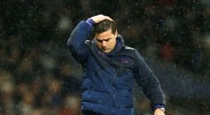 Pochettino has been dismissed  as Tottenham manager after a poor start to the season. AFP
