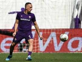 Ribéry terá de passar por cirurgia. AFP