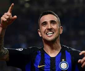 Vecino veut quitter son club. AFP