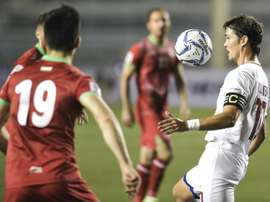 Younghusband is hoping to see football grow in stature in the Philippines. AFP