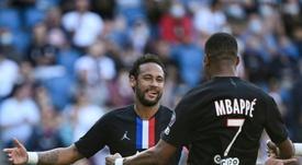 Neymar, protagonista na Europa. AFP