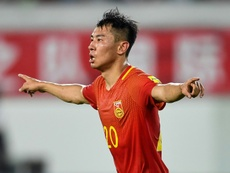 Yu Hanchao has been sacked by Guangzhou Evergrande. AFP