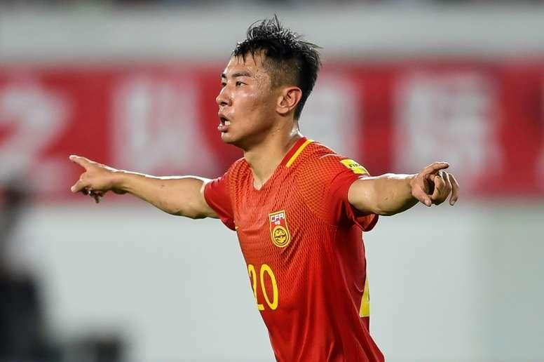 Yu Hanchao has been sacked by Guangzhou Evergrande. AFP