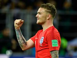 Trippier is very close to signing a contract with Atletico. AFP