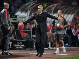 ¿Es ésta una señal de que la 'era Wenger' debe acabar pronto? . AFP/Archivo
