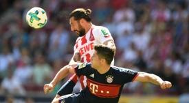 Lewandowski scored his 150th Bayern Munich goal. AFP