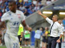 Lyon failed to win for the second game in a row after drawing v Bordeaux. AFP
