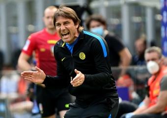 Antonio Conte no quiere un proyecto a medias. AFP/Archivo
