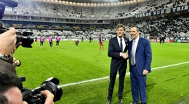 DaGrosa wants to compete with PSG. AFP