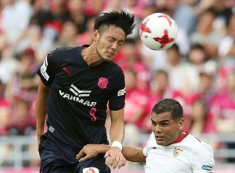 Cerezo Osaka beat Kawasaki Frontale in the final of the J-League Cup. AFP