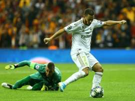 Hazard pulls strings as Real Madrid edge Galatasaray. AFP