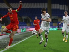 Gareth Bale thinks it is very important Wales earn Nations League promotion. AFP
