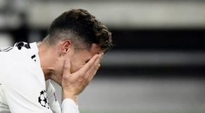 Cristiano não terminará o contrato com a Juventus. AFP