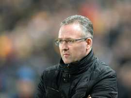 Lambert is in the running for the St. Mirren job. AFP