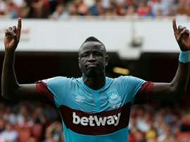 Kouyate made 36 appearances in all competitions for West Ham last season. AFP