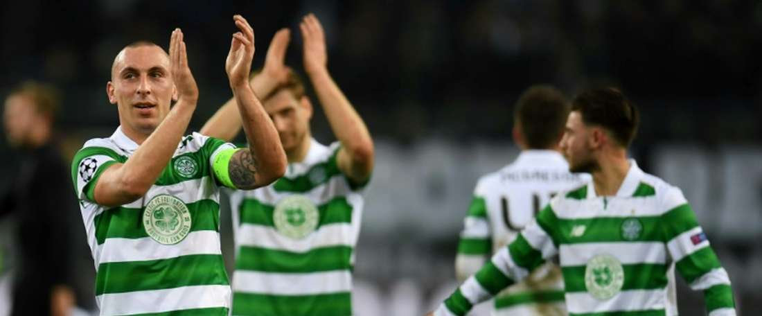 Scott Brown has been skipper at Celtic since 2010. AFP