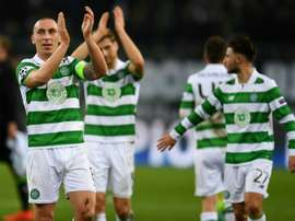 Scott is nominated alongside Celtic team-mate James Forrest. AFP