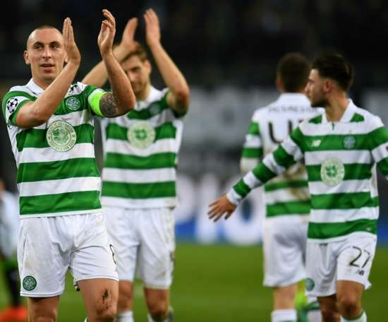 Scott Brown has been skipper at Celtic since 2010. AFP