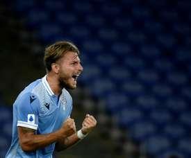 Mertens si augura di non subire gol da Immobile. AFP