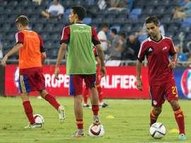 Andorra perdió en su estadio por la mínima ante Letonia. AFP