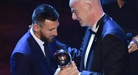 Qui a voté qui lors du The Best au meilleur joueur ? AFP