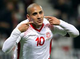 Khazri will be a key player for Tunisia at the World Cup. AFP