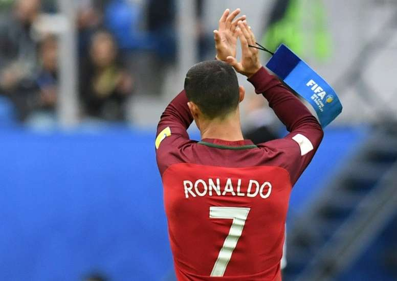 Chile are hoping to stop Cristiano Ronaldo in the Confederations Cup semi-final. AFP