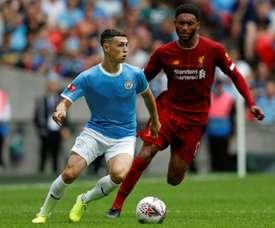 Foden veut jouer davantage avec Pep Guardiola. AFP